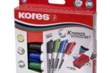 Whiteboard-Marker von KORES: Leistungsstark und umweltfreundlich.Für  überzeugende Präsentationen.