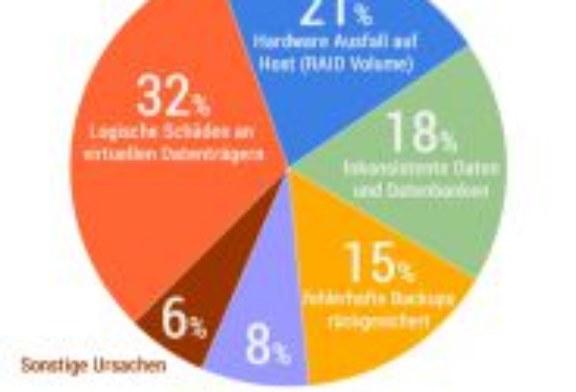 Datenretter Studie zu Datenverlust bei virtuellen Serversystemen