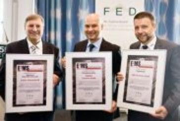 Elektronikfachverband FED ehrt vier EMS-Firmen mit Unternehmenspreis E²MS-Award