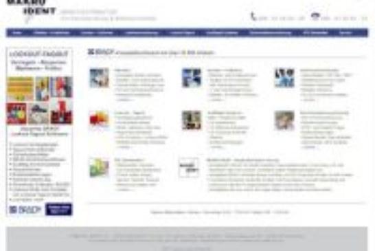 Brady-Komplettsortiment mit über 33.500 Artikeln von MAKRO IDENT