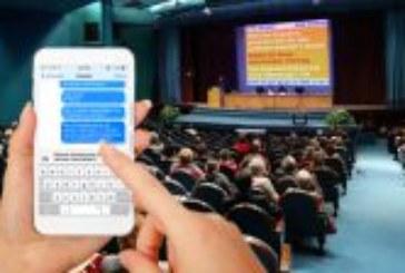 Mit dem Abstimmungstool SMS Voting Echtzeitumfragen durchführen und SMS Chatwall als Feedback-Kanal nutzen