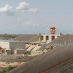 Bild: Kraftwerk der Wasserkraftanlage mit Einlassbauwerk
