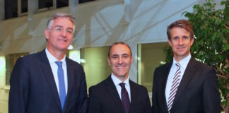 Martin Seeger, Prof. Dr. Adriano Freire, Stefan Quandt