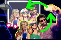 Silvester mit der Selfiewall – Partyfotos live vom Handy der Gäste auf den Beamer posten