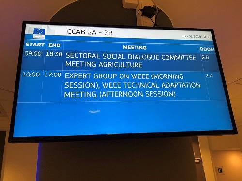 EWRN-Delegation bei der Europäischen Kommission