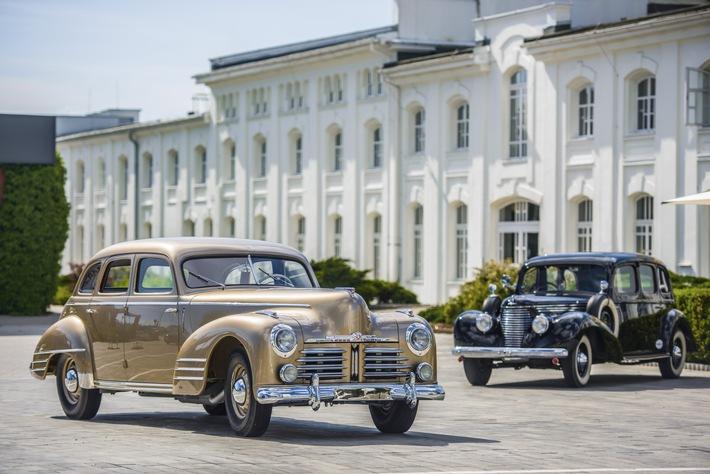 Aufwendig restaurierter SKODA SUPERB OHV von 1948 ist neues Highlight des SKODA Museums