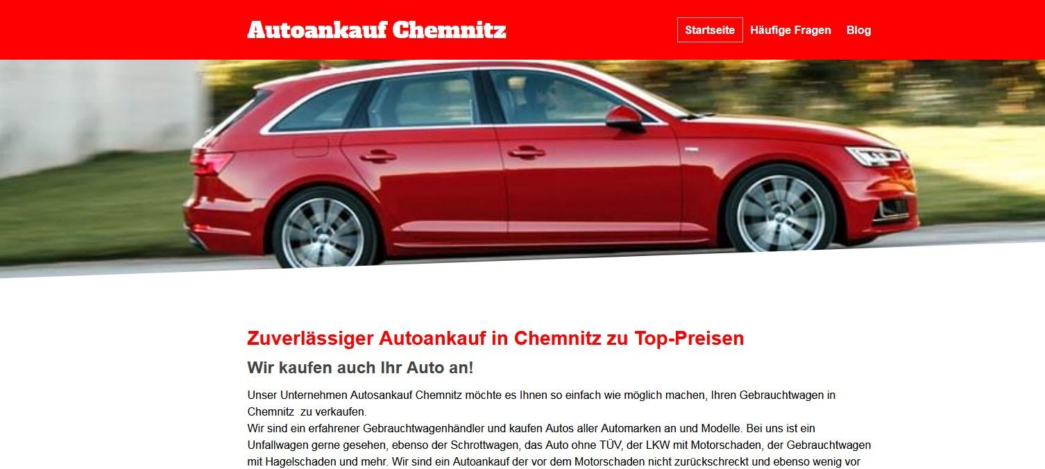 Autoankauf in Chemnitz und Umgebung