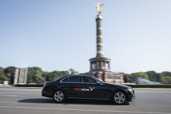 Mietwagen-Angebot mit Fahrer in Berlin