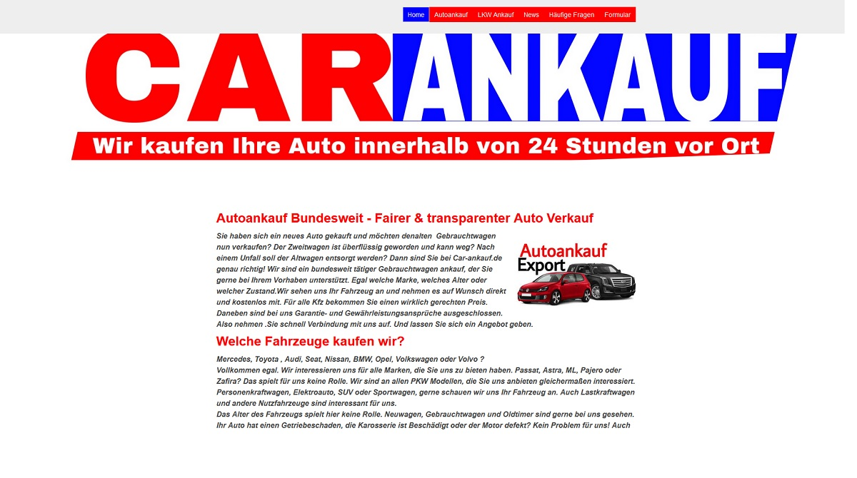 Autoankauf Aschaffenburg