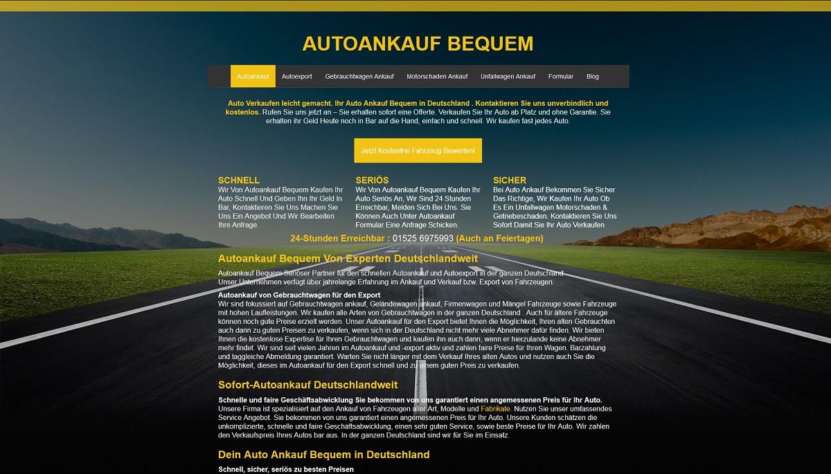 Autoankauf-bequem Autoankauf Öllingen