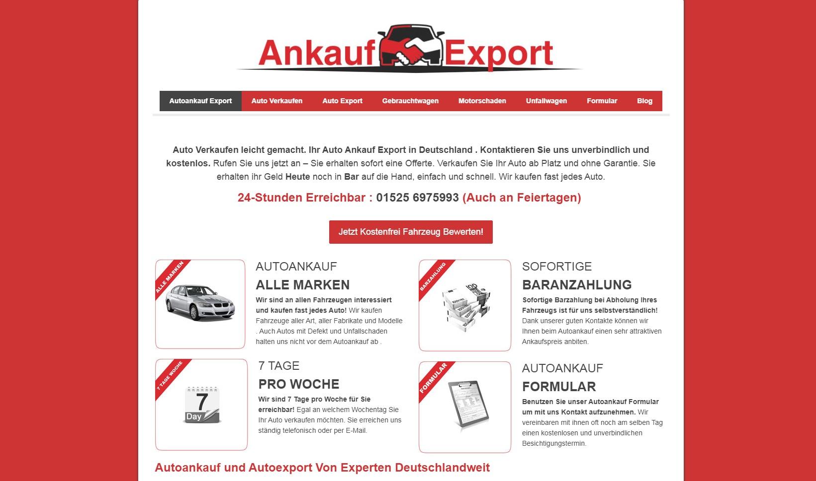 Autoankauf in Augsburg