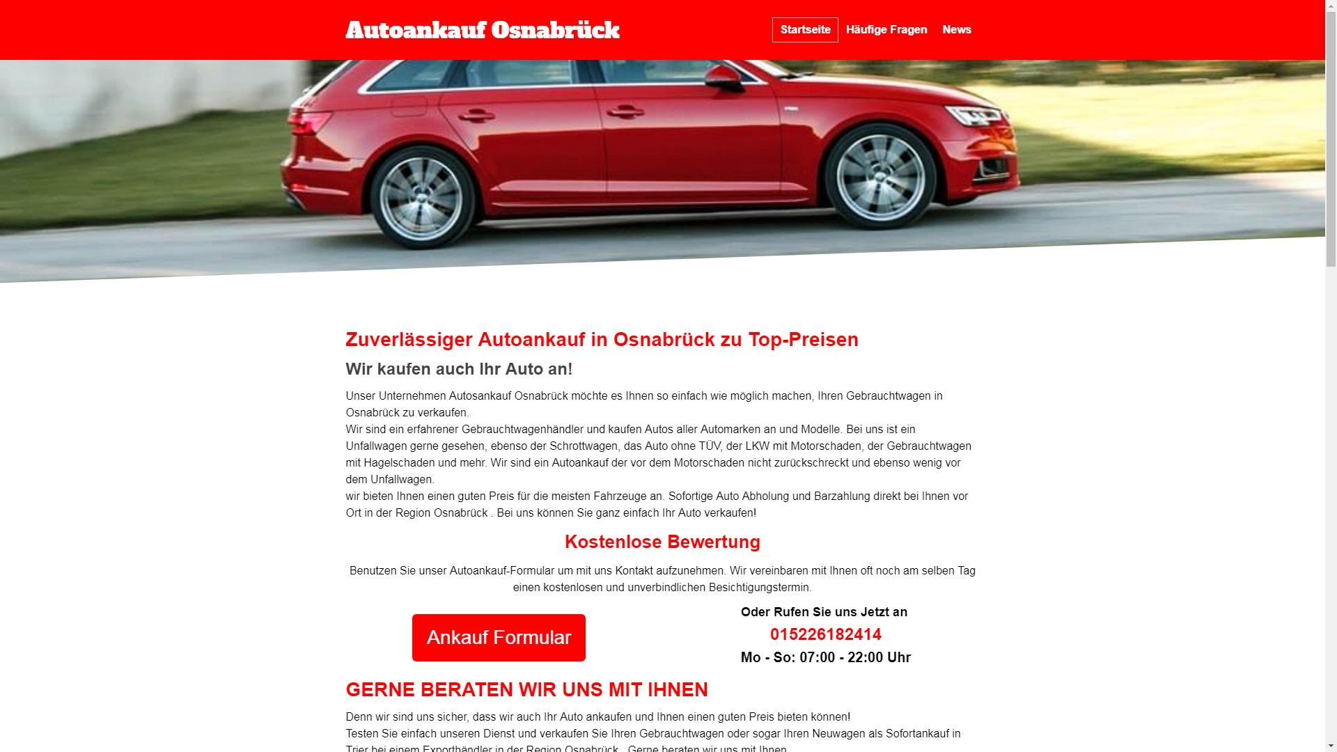Autoankauf Osnabrück
