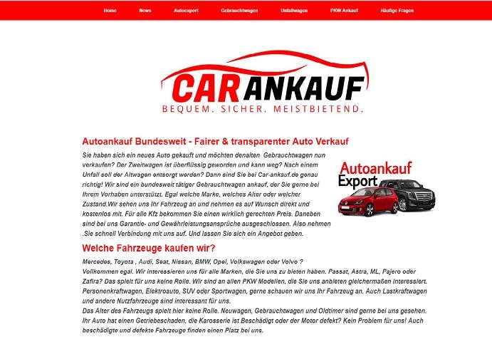 Autoankauf Bundesweit