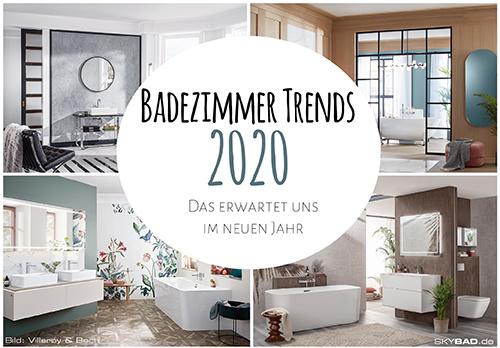 Badezimmer Trends 2020
