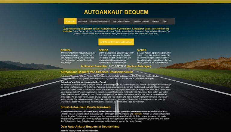 Autoankauf Freiburg im Breisgau kommt zu Ihnen, wenn Ihr altes Fahrzeug nicht mehr fahrtüchtig ist