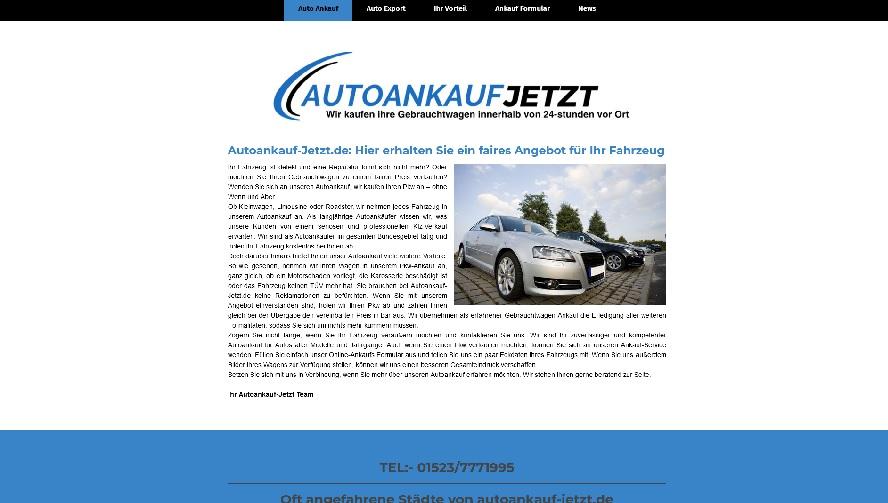 Autoankauf in Göttingen   autoankauf-jetzt   Autohändler Göttingen
