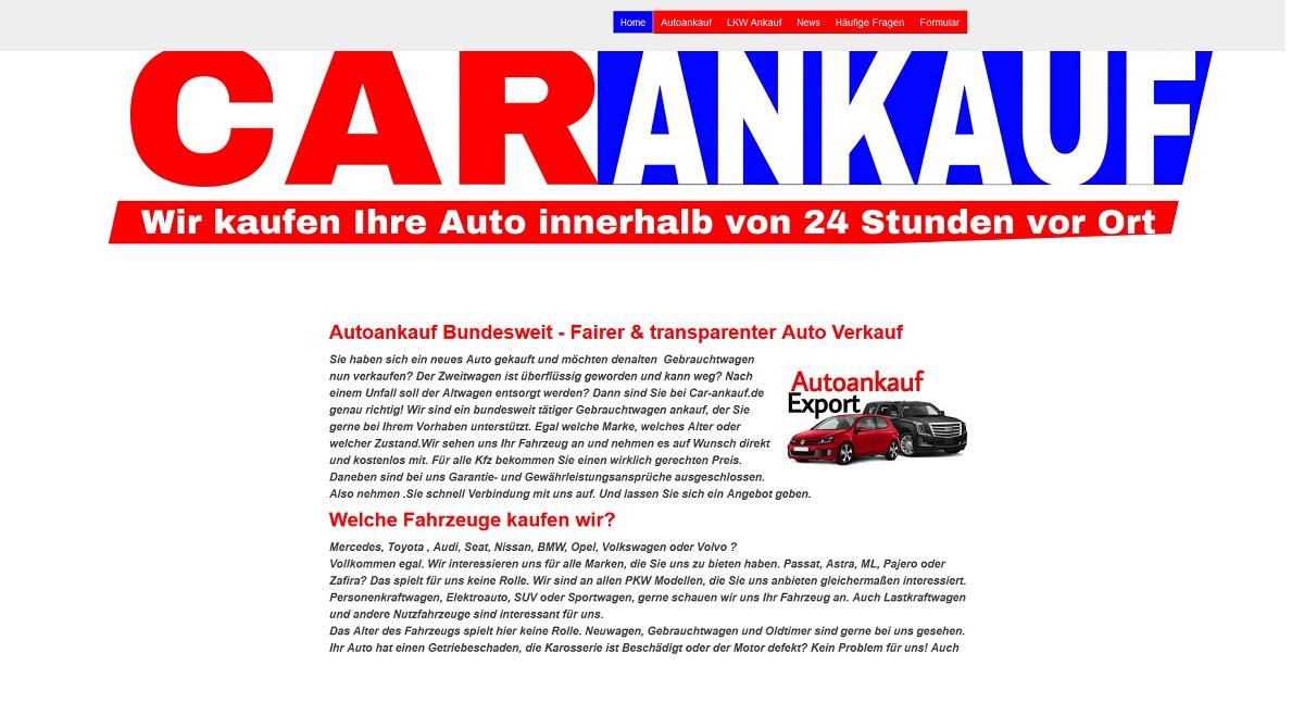 Autoankauf Wermelskirchen - Kfz Ankauf Export