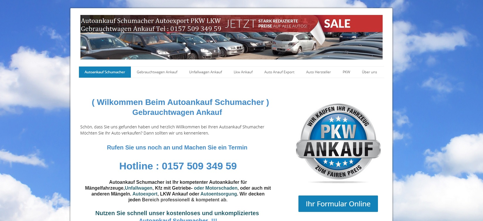 autoankauf-schumacher.de - Autoankauf Augsburg