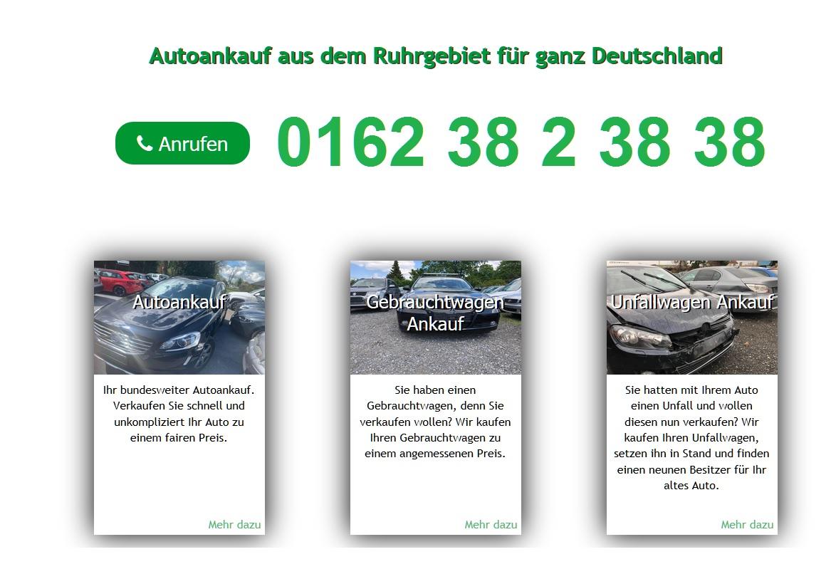 Autoankauf Dortmund kauft jeden Gebrauchtwagen an!