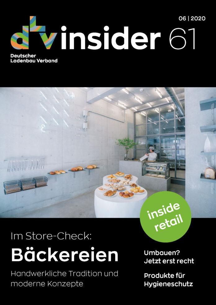 Jetzt online: der neue dLv-Insider mit aktuellen Infos aus dem Ladenbau