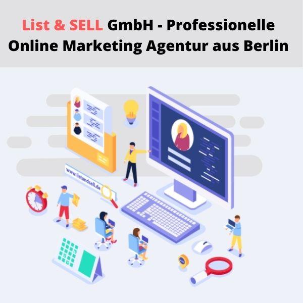 Maßgeschneiderte Internet-Marketing-Services mit List & SELL GmbH