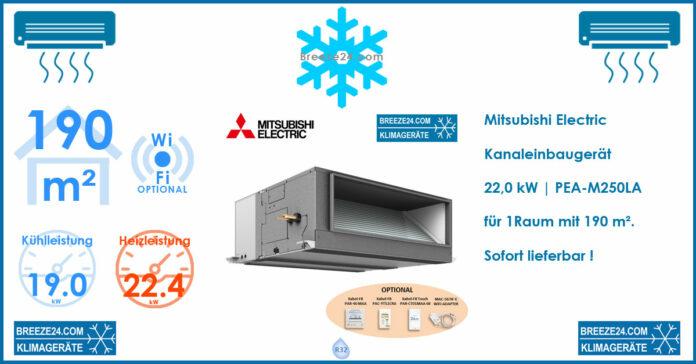 Mitsubishi Electric Klimaanlagen Kanaleinbaugerät PEA-M200LA R32