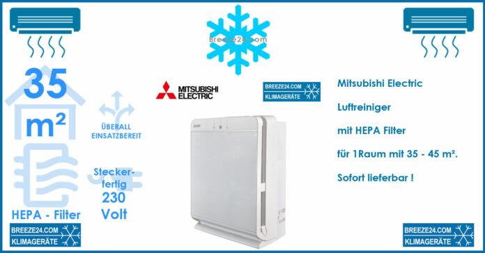 Mitsubishi Electric MA-E85R-E Luftreiniger mit HEPA-Filter