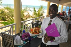 Coco Beach lunch time 1 300x199 - THE GAMBIA 2021/22: WHY IS WEST AFRICA'S BEST RESORT AND SPA A PERFECT SPOT FOR A WINTER ESCAPE?