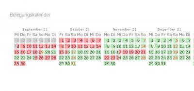 belegungskalender herbstferien tiny appartement westerland sylt oktober 202