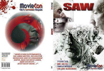 moviecon sonderband 2 saw hardcover white