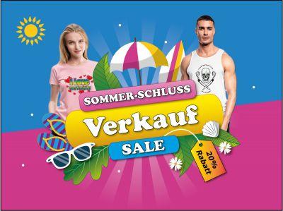 Sommerschlussverkauf bei Go2Meet! 20% Rabatt auf alles! T-Shirt, Hoodies, Pullover, Tassen, Sticker u. v. m.