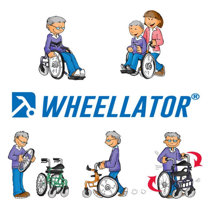 Alternative zum Rollator Wheellator mit Sicherheit mobil bleiben 1
