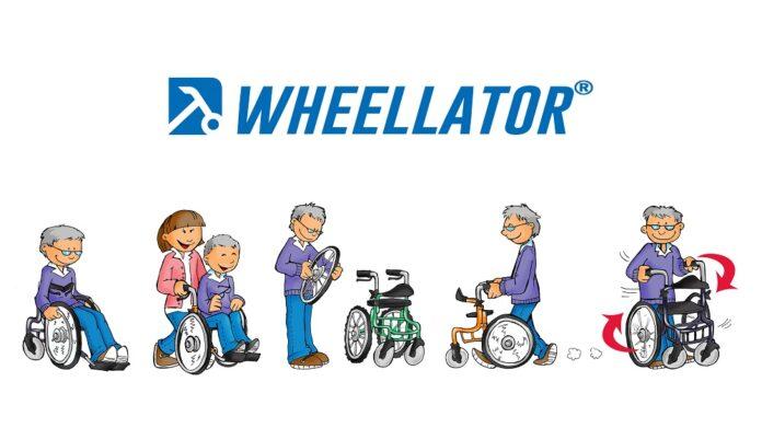 Wheellator comics panorama mit Sicherheit mobil bleiben